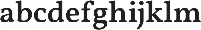 Martin Black otf (900) Font LOWERCASE