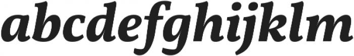 Martin SemiBold Italic otf (600) Font LOWERCASE