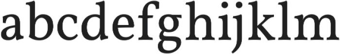 Martin otf (400) Font LOWERCASE