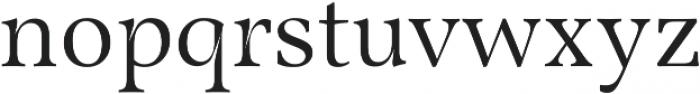 Martin otf (700) Font LOWERCASE