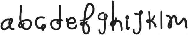 Martina otf (400) Font LOWERCASE