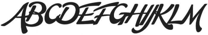 Martinaz Regular otf (400) Font UPPERCASE