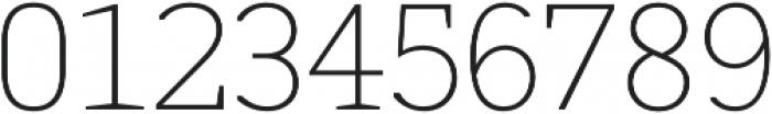 MartiniThai Neue Slab Thin otf (100) Font OTHER CHARS