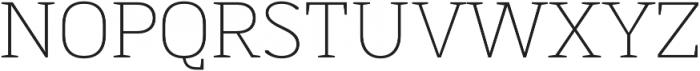 MartiniThai Neue Slab Thin otf (100) Font UPPERCASE