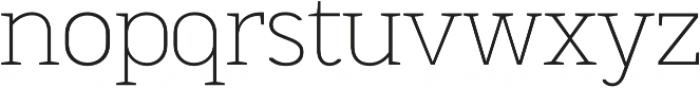 MartiniThai Neue Slab Thin otf (100) Font LOWERCASE
