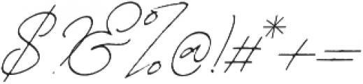 Martoni Rough otf (400) Font OTHER CHARS