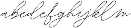 Martoni Rough otf (400) Font LOWERCASE