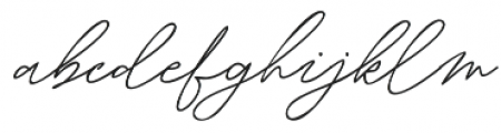 Martoni otf (400) Font LOWERCASE