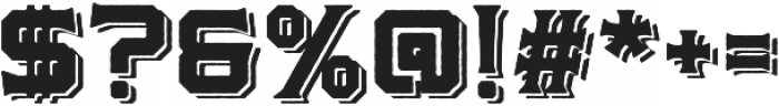 Martslock_Display_Shadow otf (400) Font OTHER CHARS