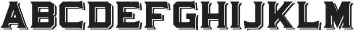 Martslock_Display_Shadow otf (400) Font LOWERCASE
