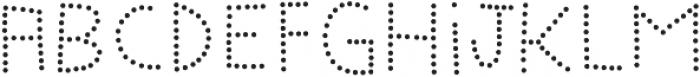 Marujo Dots otf (400) Font LOWERCASE
