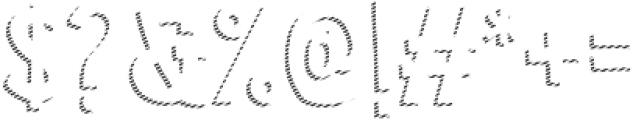 Marujo Shadow 2 otf (400) Font OTHER CHARS