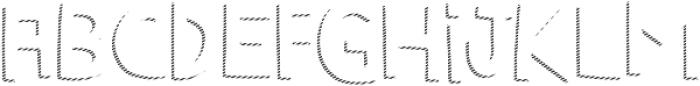 Marujo Shadow 2 otf (400) Font LOWERCASE