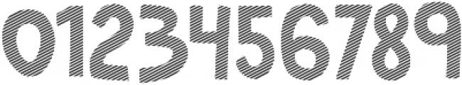Marujo Striped otf (400) Font OTHER CHARS