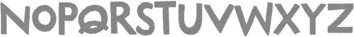 Marujo Striped otf (400) Font UPPERCASE