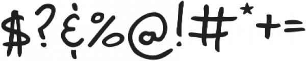 Marvaloha Regular otf (400) Font OTHER CHARS