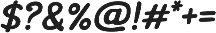 Marvelous Rex Bold Italic otf (700) Font OTHER CHARS