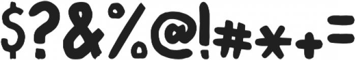Marver Regular otf (400) Font OTHER CHARS