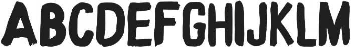 Marver Regular otf (400) Font UPPERCASE