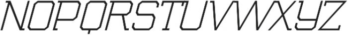 Marvin Thin otf (100) Font UPPERCASE