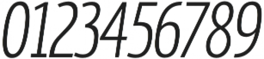 MaryTodd Light Italic otf (300) Font OTHER CHARS