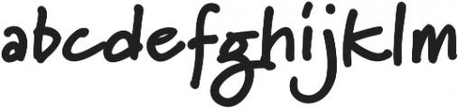 Marydale Black otf (900) Font LOWERCASE