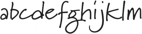Marydale otf (400) Font LOWERCASE