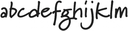 Marydale otf (700) Font LOWERCASE