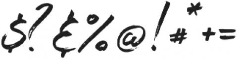 Maryland Alt Left Tail Regular otf (400) Font OTHER CHARS