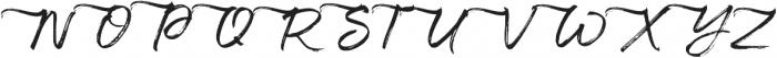 Maryland Alt Left Tail Regular otf (400) Font UPPERCASE