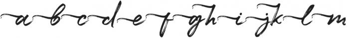 Maryland Alt Left Tail Regular otf (400) Font LOWERCASE