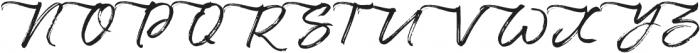 Maryland Left Tail otf (400) Font UPPERCASE