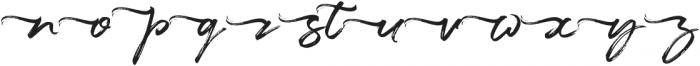 Maryland Left Tail otf (400) Font LOWERCASE