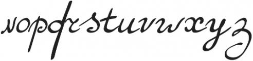 Maryna1 Regular otf (400) Font LOWERCASE