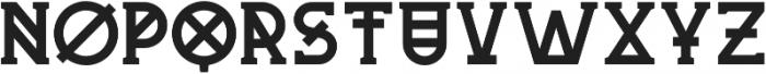 Mash-up otf (400) Font LOWERCASE