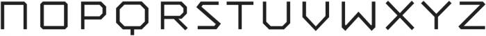 Mashine Light otf (300) Font LOWERCASE