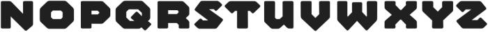 Mashine Rounded Extrabold otf (700) Font UPPERCASE