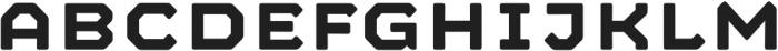 Mashine Rounded Semibold otf (600) Font UPPERCASE