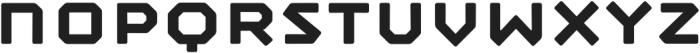 Mashine Rounded Semibold otf (600) Font LOWERCASE