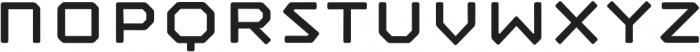 Mashine Rounded otf (400) Font LOWERCASE