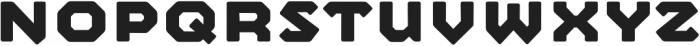 Mashine Rounded otf (700) Font UPPERCASE