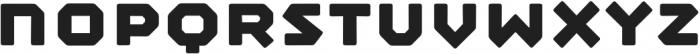Mashine Rounded otf (700) Font LOWERCASE
