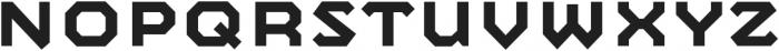 Mashine Semibold otf (600) Font UPPERCASE
