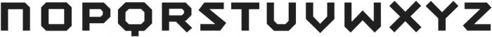 Mashine Semibold otf (600) Font LOWERCASE