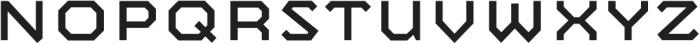 Mashine otf (400) Font UPPERCASE