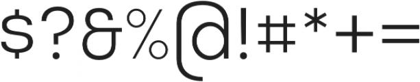Masiva Regular otf (400) Font OTHER CHARS