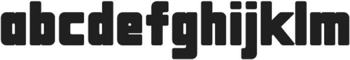 MassivaGrotesQBlack ttf (900) Font LOWERCASE