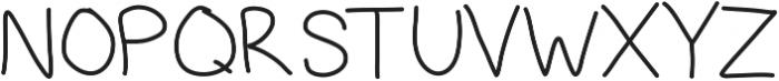 Mast ttf (400) Font UPPERCASE