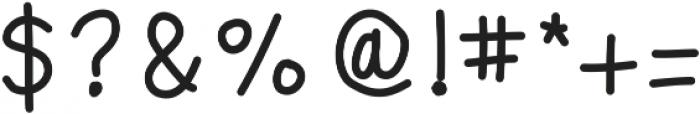 MastBold ttf (700) Font OTHER CHARS