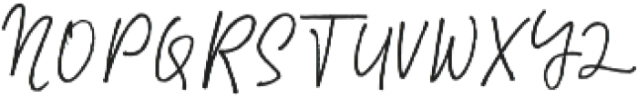 Master Brush otf (400) Font UPPERCASE